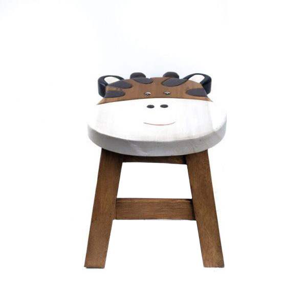 Miraculous Wooden Childs Stool 10 With Giraffe Design Furniture Home Decor Ncnpc Chair Design For Home Ncnpcorg